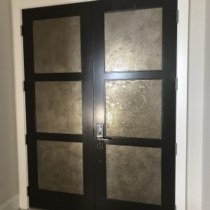 Door inserts - private residence Bonita Springs