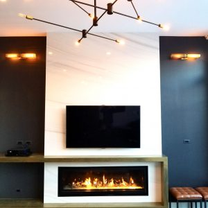 Private residence Chicago - fire place